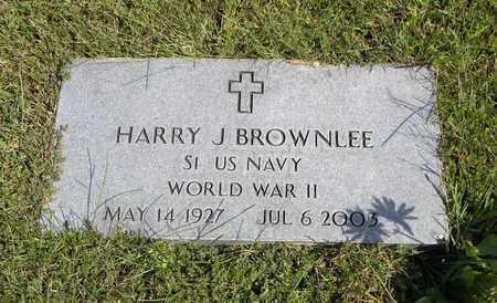 BROWNLEE, HARRY J   (VETERAN WWII) - Nemaha County, Kansas   HARRY J   (VETERAN WWII) BROWNLEE - Kansas Gravestone Photos