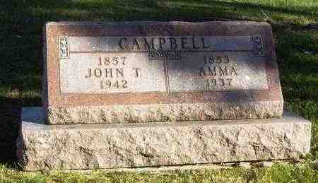 CAMPBELL, AMMA - Nemaha County, Kansas | AMMA CAMPBELL - Kansas Gravestone Photos