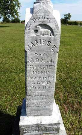 CARPENTER, JAMES E - Nemaha County, Kansas | JAMES E CARPENTER - Kansas Gravestone Photos