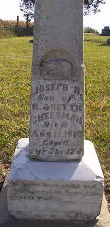 CHEESMAN, JOSEPH H - Nemaha County, Kansas | JOSEPH H CHEESMAN - Kansas Gravestone Photos