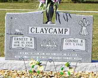 CLAYCAMP, ERNEST R - Nemaha County, Kansas   ERNEST R CLAYCAMP - Kansas Gravestone Photos