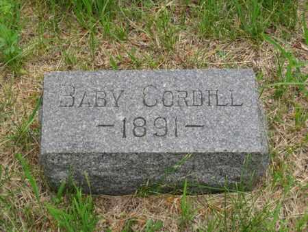 CORDILL, BABY - Nemaha County, Kansas | BABY CORDILL - Kansas Gravestone Photos
