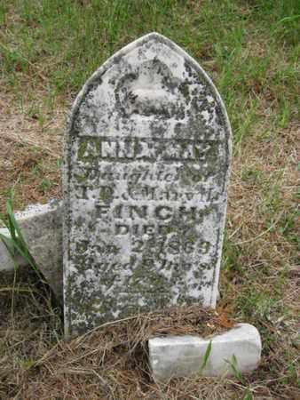 FINCH, ANNA MAY - Nemaha County, Kansas | ANNA MAY FINCH - Kansas Gravestone Photos