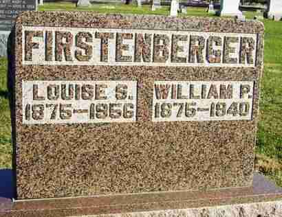 SPAULDING FIRSTENBERGER, LULA LOUISE - Nemaha County, Kansas | LULA LOUISE SPAULDING FIRSTENBERGER - Kansas Gravestone Photos
