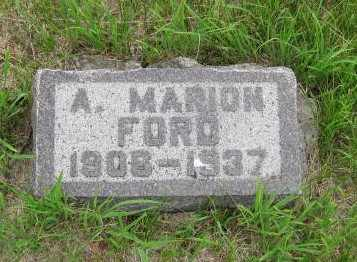 FORD, A  MARION - Nemaha County, Kansas | A  MARION FORD - Kansas Gravestone Photos