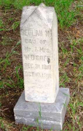 GOFF, BEULAH M - Nemaha County, Kansas | BEULAH M GOFF - Kansas Gravestone Photos