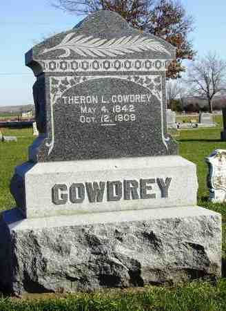 GOWDREY, THERON L - Nemaha County, Kansas   THERON L GOWDREY - Kansas Gravestone Photos
