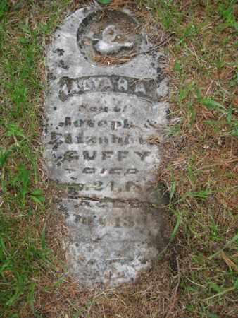 GUFFY, ALVAH A - Nemaha County, Kansas | ALVAH A GUFFY - Kansas Gravestone Photos