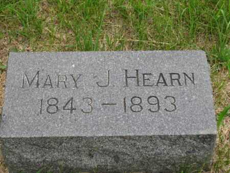HEARN, MARY J - Nemaha County, Kansas   MARY J HEARN - Kansas Gravestone Photos