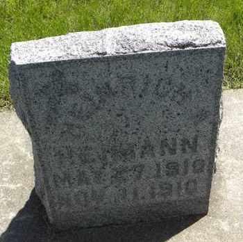 HEIMANN, HENRICH ALOYSIUS - Nemaha County, Kansas   HENRICH ALOYSIUS HEIMANN - Kansas Gravestone Photos