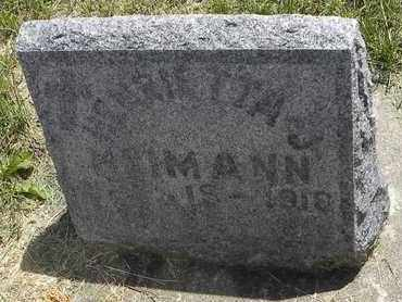 HEIMANN, HENRIETTA JOSEPHINE - Nemaha County, Kansas | HENRIETTA JOSEPHINE HEIMANN - Kansas Gravestone Photos