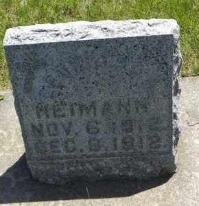 HEIMANN, LEONARD AUGUST - Nemaha County, Kansas   LEONARD AUGUST HEIMANN - Kansas Gravestone Photos