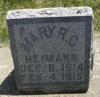 HEIMANN, MARY RAPHALELA CHRISTINA - Nemaha County, Kansas | MARY RAPHALELA CHRISTINA HEIMANN - Kansas Gravestone Photos