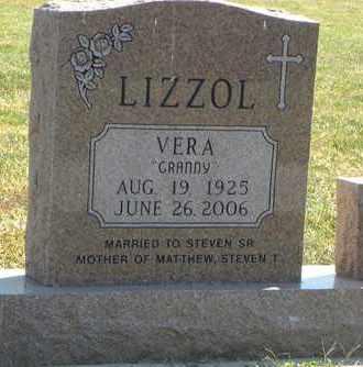 LIZZOL, VERA - Nemaha County, Kansas | VERA LIZZOL - Kansas Gravestone Photos