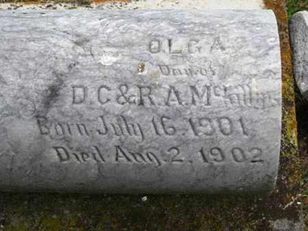 MCKILLIPS, OLGA - Nemaha County, Kansas   OLGA MCKILLIPS - Kansas Gravestone Photos