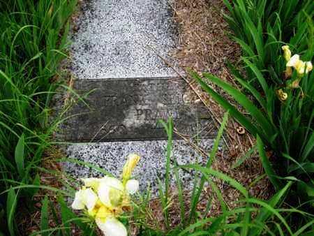 PRAWL, FRANK SIEGLER - Nemaha County, Kansas   FRANK SIEGLER PRAWL - Kansas Gravestone Photos