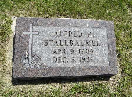 STALLBAUMER, ALFRED HERMAN - Nemaha County, Kansas | ALFRED HERMAN STALLBAUMER - Kansas Gravestone Photos