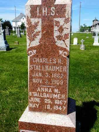 STALLBAUMER, ANNA MARY - Nemaha County, Kansas | ANNA MARY STALLBAUMER - Kansas Gravestone Photos