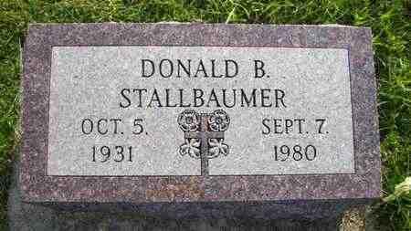 STALLBAUMER, DONALD B - Nemaha County, Kansas | DONALD B STALLBAUMER - Kansas Gravestone Photos