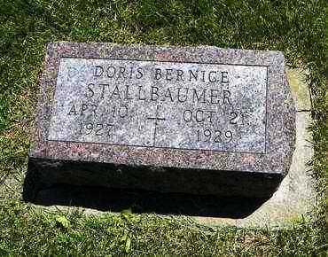 STALLBAUMER, DORIS BERNICE - Nemaha County, Kansas | DORIS BERNICE STALLBAUMER - Kansas Gravestone Photos