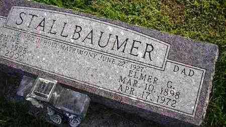 STALLBAUMER, JOSEPHINE F - Nemaha County, Kansas | JOSEPHINE F STALLBAUMER - Kansas Gravestone Photos