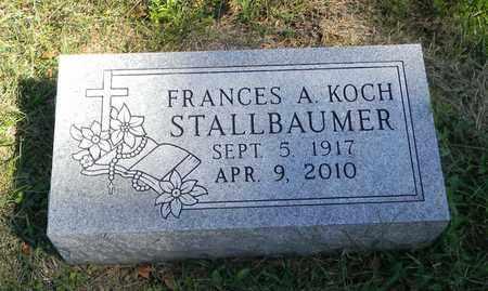 KOCH, FRANCES A - Nemaha County, Kansas | FRANCES A KOCH - Kansas Gravestone Photos