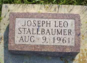 STALLBAUMER, JOSEPH LEO - Nemaha County, Kansas | JOSEPH LEO STALLBAUMER - Kansas Gravestone Photos