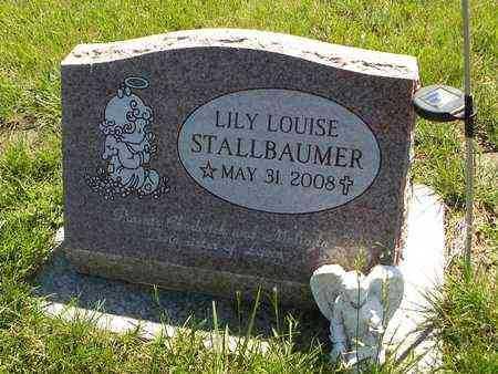 STALLBAUMER, LILY LOUISE - Nemaha County, Kansas | LILY LOUISE STALLBAUMER - Kansas Gravestone Photos