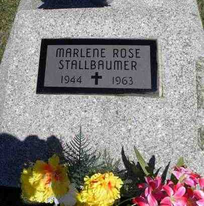 STALLBAUMER, MARLENE ROSE - Nemaha County, Kansas | MARLENE ROSE STALLBAUMER - Kansas Gravestone Photos
