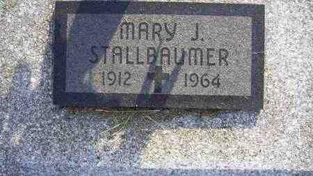 STALLBAUMER, MARY JOSEPHINE - Nemaha County, Kansas | MARY JOSEPHINE STALLBAUMER - Kansas Gravestone Photos