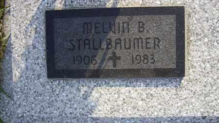 STALLBAUMER, MELVIN B - Nemaha County, Kansas | MELVIN B STALLBAUMER - Kansas Gravestone Photos