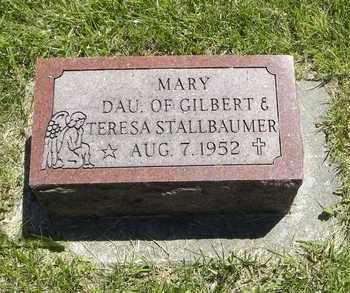 STALLBAUMER, MARY - Nemaha County, Kansas | MARY STALLBAUMER - Kansas Gravestone Photos