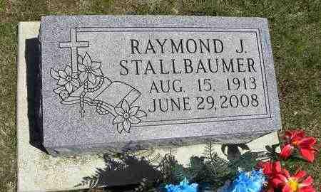 """STALLBAUMER, RAYMOND JOHN """"RAY"""" - Nemaha County, Kansas   RAYMOND JOHN """"RAY"""" STALLBAUMER - Kansas Gravestone Photos"""