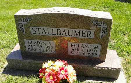 STALLBAUMER, GLADYS A - Nemaha County, Kansas | GLADYS A STALLBAUMER - Kansas Gravestone Photos
