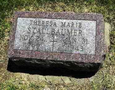 STALLBAUMER, THERESA MARIE - Nemaha County, Kansas   THERESA MARIE STALLBAUMER - Kansas Gravestone Photos