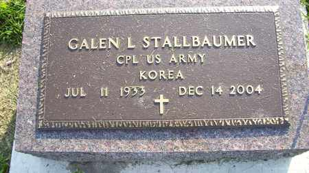 STALLBAUMER, GALEN L  (VETERAN KOR) - Nemaha County, Kansas   GALEN L  (VETERAN KOR) STALLBAUMER - Kansas Gravestone Photos