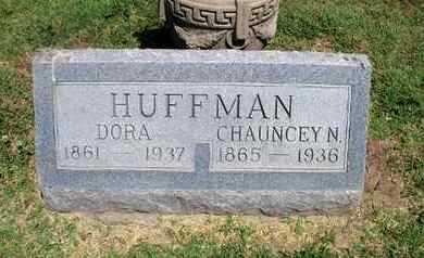 HUFFMAN, CHAUNCEY - Neosho County, Kansas | CHAUNCEY HUFFMAN - Kansas Gravestone Photos
