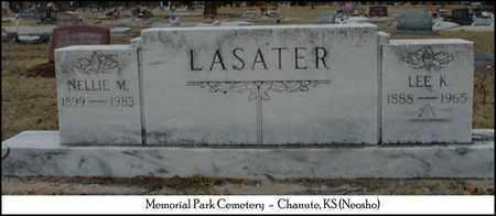 ELLIOTT LASATER, NELLIE MARIE - Neosho County, Kansas | NELLIE MARIE ELLIOTT LASATER - Kansas Gravestone Photos
