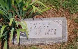 BARRY, CALEB RANDOLPH - Ness County, Kansas | CALEB RANDOLPH BARRY - Kansas Gravestone Photos