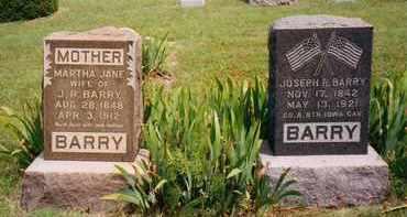 BARRY, MARTHA - Ness County, Kansas | MARTHA BARRY - Kansas Gravestone Photos