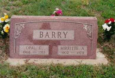 SUNLEY BARRY, OPAL CORAL - Ness County, Kansas | OPAL CORAL SUNLEY BARRY - Kansas Gravestone Photos