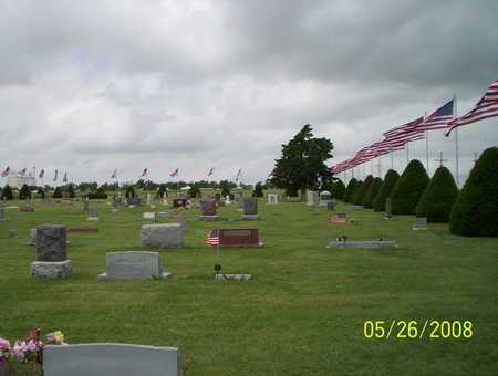 *FLAG DAY OVERVIEW, UTICA CEMETERY - Ness County, Kansas | UTICA CEMETERY *FLAG DAY OVERVIEW - Kansas Gravestone Photos