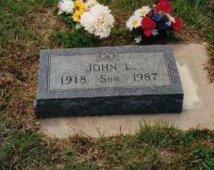 SUNLEY, JOHN LESTER - Ness County, Kansas | JOHN LESTER SUNLEY - Kansas Gravestone Photos