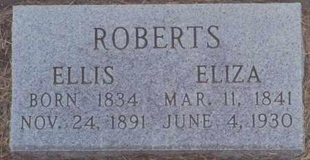 BEBB ROBERTS, ELIZA - Norton County, Kansas | ELIZA BEBB ROBERTS - Kansas Gravestone Photos