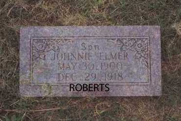 ROBERTS, JOHNNIE ELMER - Norton County, Kansas | JOHNNIE ELMER ROBERTS - Kansas Gravestone Photos