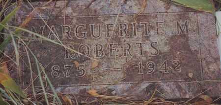 ROBERTS, MARGUERITE M - Norton County, Kansas | MARGUERITE M ROBERTS - Kansas Gravestone Photos