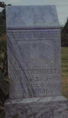 ROBERTS, ROBERT M - Norton County, Kansas | ROBERT M ROBERTS - Kansas Gravestone Photos