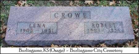 CROWE, ROBERT GEORGE - Osage County, Kansas   ROBERT GEORGE CROWE - Kansas Gravestone Photos