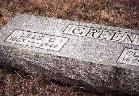 HAMLIN GREEN, LILLIE C - Osage County, Kansas   LILLIE C HAMLIN GREEN - Kansas Gravestone Photos