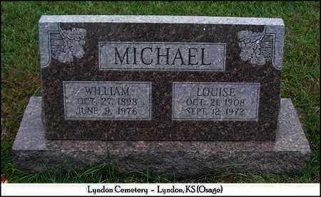 DESKINS MICHAEL, LOUISE - Osage County, Kansas | LOUISE DESKINS MICHAEL - Kansas Gravestone Photos